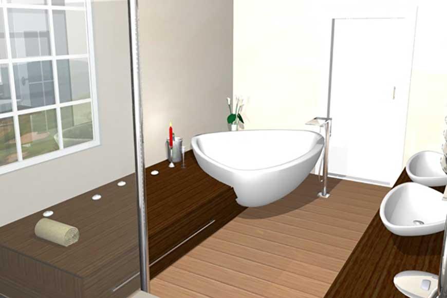 Neubau Badgestaltung Hitzler Heizung Sanitar Spenglerei Luftung